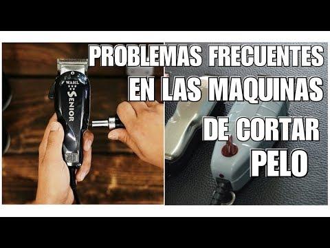Problemas comunes de las maquinas de cortar pelo
