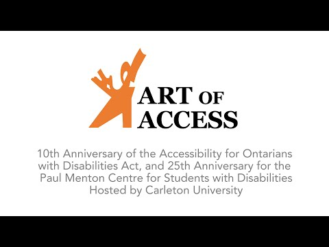 Paul Menton Centre Presents - Art of Access 2015