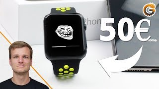 50€ Apple Watch Series 4: Billiger Klon oder wirklich gut?