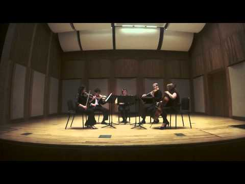 A performance in a student group at the Longy School of Music of Brahms's Clarinet Quintet.