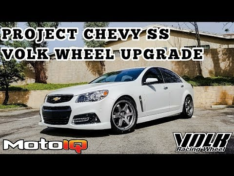 MOTOIQ Chevy SS: Volk Wheel Upgrade