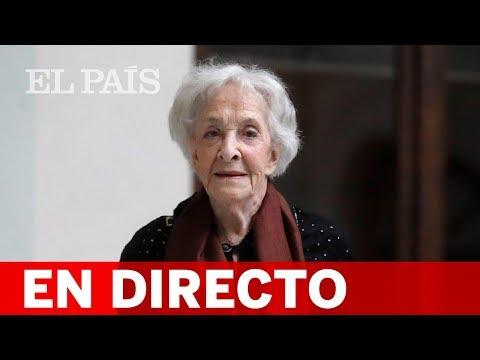 DIRECTO | Entrega del PREMIO CERVANTES a IDA VITALE