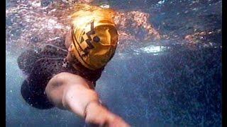 Смотреть онлайн Обучение технике и методике плаванья кролем на спине