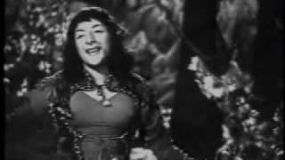 Angarey (1954)-Tere Saath Chale Hain Yeh Zameen (Lata