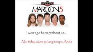 Maroon 5   Won't Go Home Without You Lyric