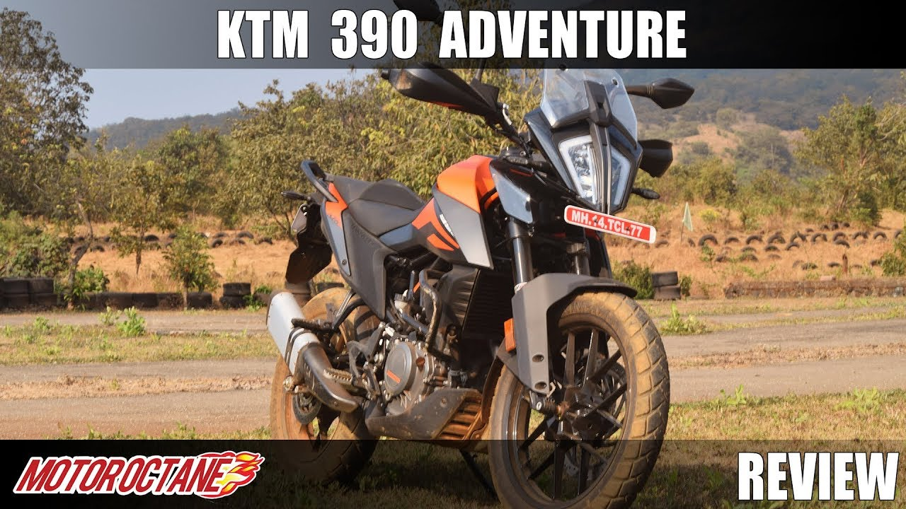 Motoroctane Youtube Video - KTM 390 Adventure Review | Hindi | MotorOctane
