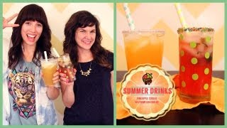 DELICIOUS SUMMER DRINKS!