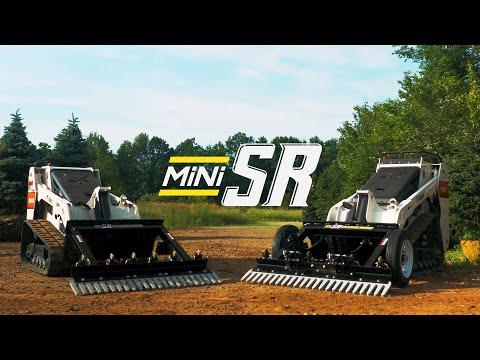 Mini SR Command Series – Mini Skid Steer Grading Rake