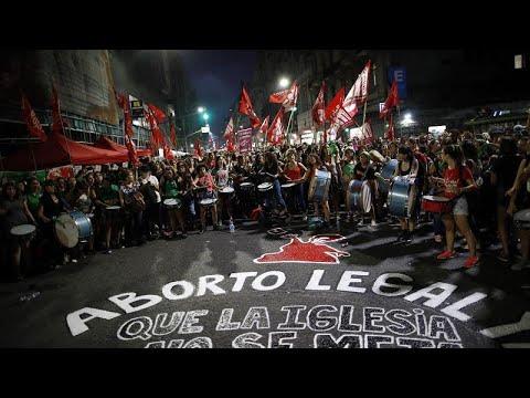 Πράσινο «τσουνάμι» υπέρ των αμβλώσεων στο Μπουένος Άιρες…