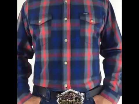 Camisa caballero wrangler-ROPA EL TOREO