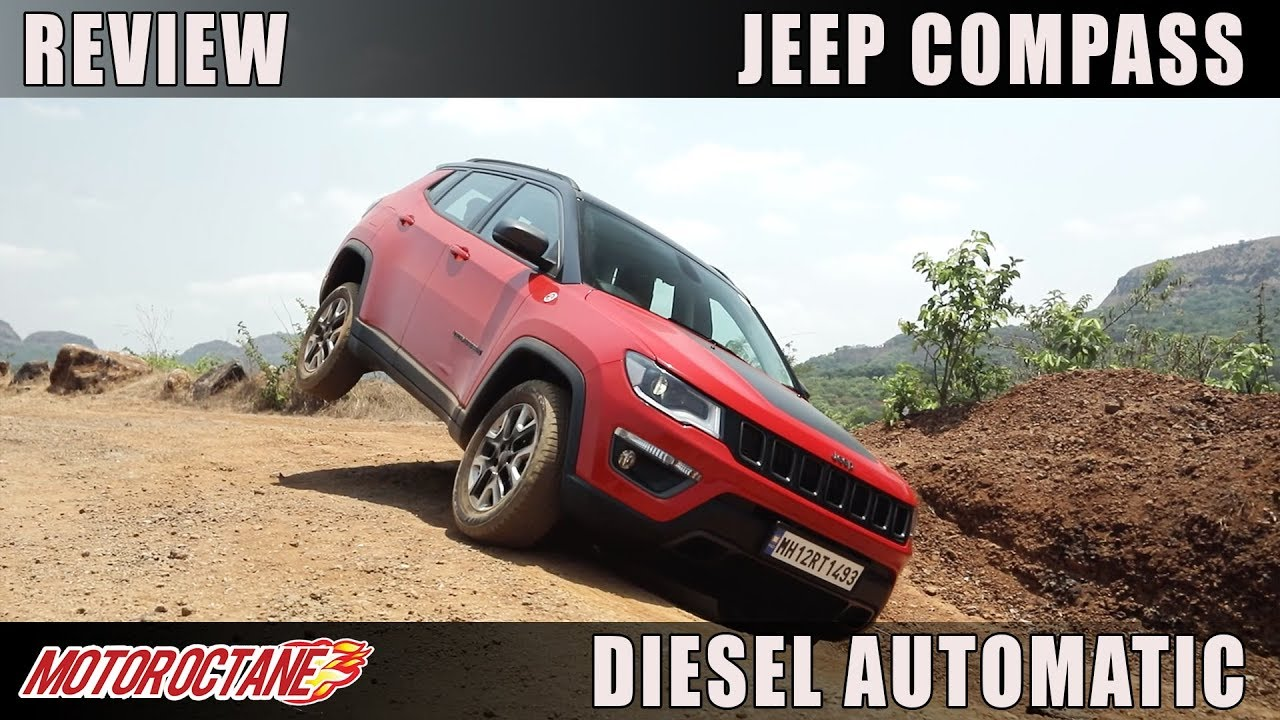 Motoroctane Youtube Video - Jeep Compass Diesel Automatic Trailhawk Review | Hindi | MotorOctane