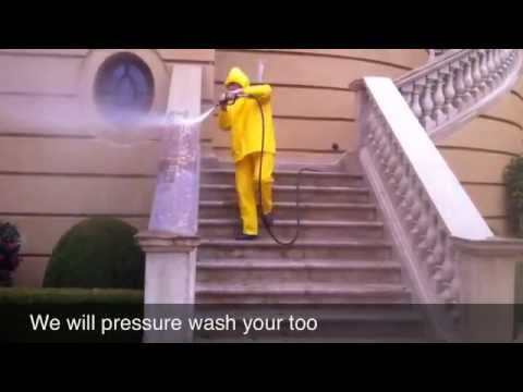 Pressure Washing In Alpharetta Ga