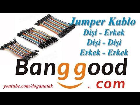 Banggood jumper Bablo Atlama Kablosu - Geekcreit® 3 IN 1 120pcs 10cm