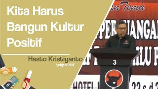 PDIP Ingatkan Kadernya Bangun Kultur Positif Hadapi Fitnah dan Ujaran Kebencian Jelang Pemilu 2019