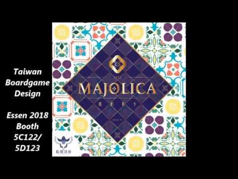 Majolica fast forward solo playthrough