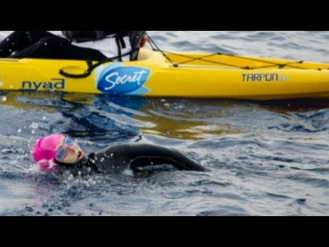 Diana Nyad Tries to Swim from Cuba to Florida