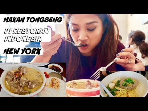 INDONESIAN RESTAURANT IN NEW YORK || AWANG KITCHEN||TONGSENG KAMBING