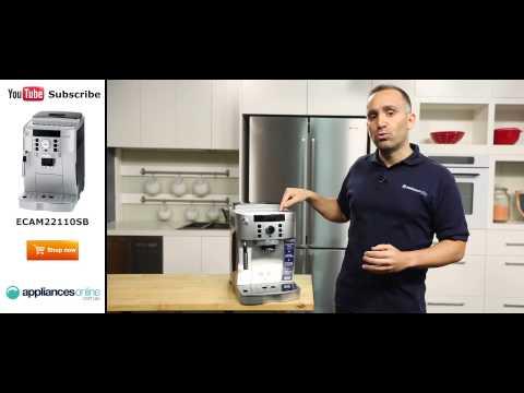 , DeLonghi ECAM22110SB Compact Automatic Cappuccino, Latte and Espresso Machine