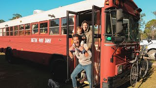 Morning Routine 2020 // Family of 3 Living in a bus