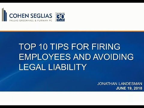 , title : 'Top 10 Tips For Firing Employees And Avoiding Legal Liability
