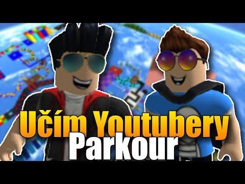 Učím youtubery parkour v Robloxu! | Bozi