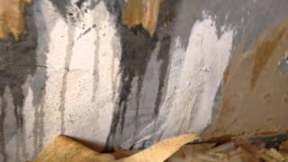 Как снять старые обои с бетонных стен