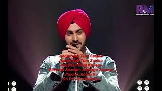 Rohanpreet Singh  Aaoge Jab Tum O Sajna with lyrics  Rising