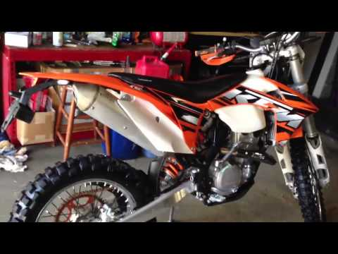 2013 KTM 350 exc-f review