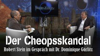 Der Cheops Skandal – Dr. Dominique Görlitz bei SteinZeit