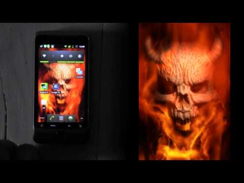 Video of Hellfire Burning Demon