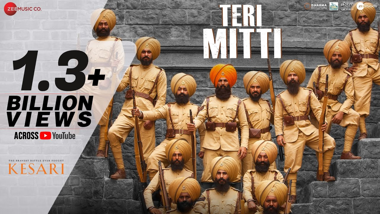 Teri Mitti Song Lyrics - Kesari | Akshay Kumar | Parineeti Chopra| B Praak  Lyrics