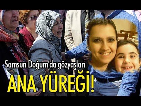 Samsun Doğum Hastanesi'nde gözyaşları sel oldu!