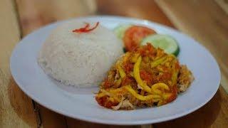 Ayam Geprek Mbok Moro, Tawarkan Kepedasan Mulai dari Level 1 hingga 20