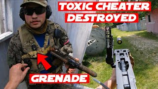 Airsoft Grenade Launcher Only Gameplay! (EXPLOSIVE ROUNDS)