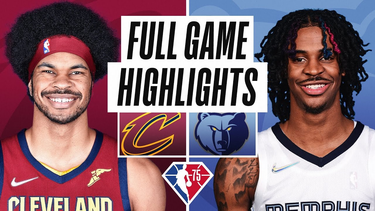 CAVALIERS at GRIZZLIES | FULL GAME HIGHLIGHTS | October 20, 2021