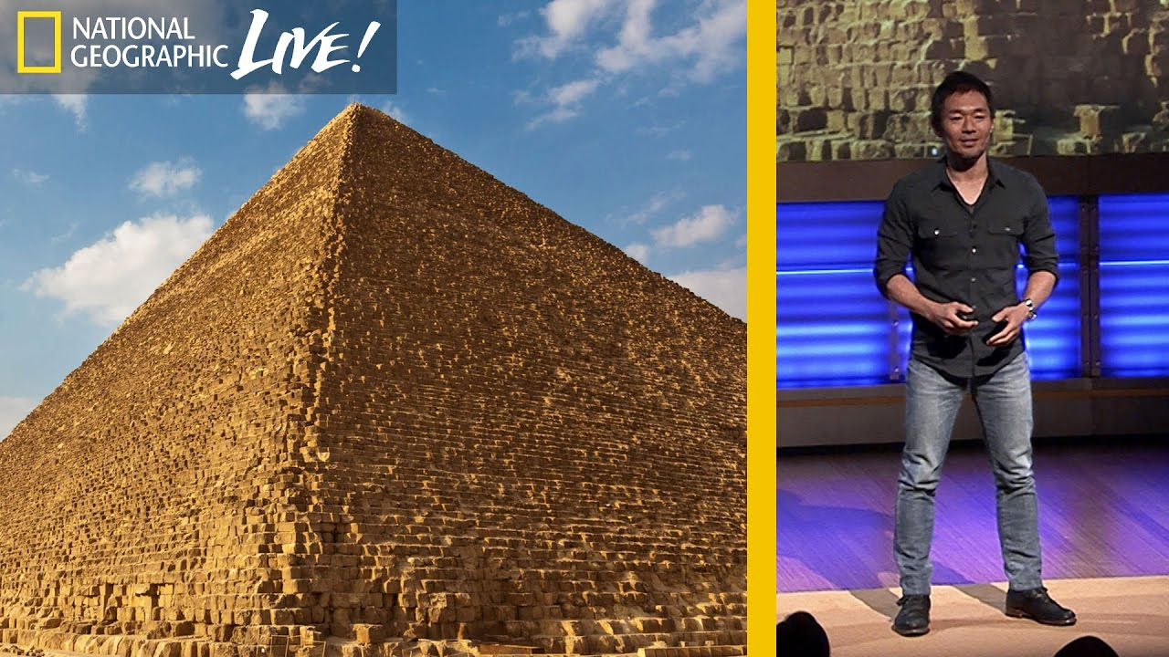 3-D Technology Offers Clues to How Egypt's Pyramids Were Built | Nat Geo Live thumbnail