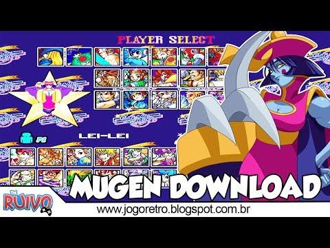 Capcom World MUGEN Gold Edition Update 2018 - игровое видео