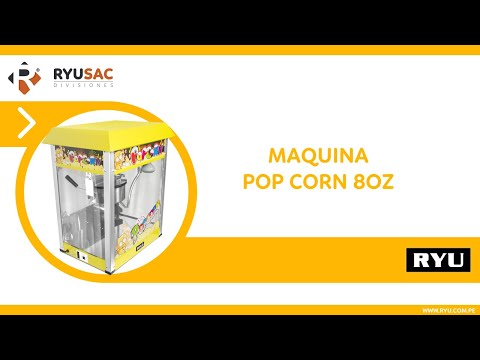 Maquina Pop Corn 8oz • RYUSAC