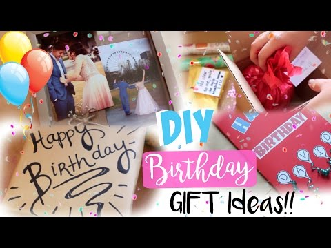 DIY Birthday Gifts & Gift Decoration Ideas for EVERYONE!!