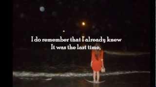 Do You Remember ~ Ane Brun (lyrics)