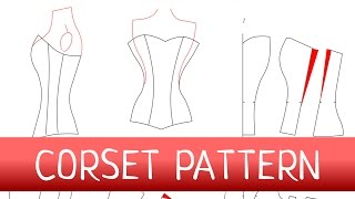 Corset Pattern. How To Make A Corset? FREE PATTERN