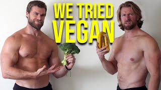 WE TRIED VEGAN for 30 Days, Here's What Happened