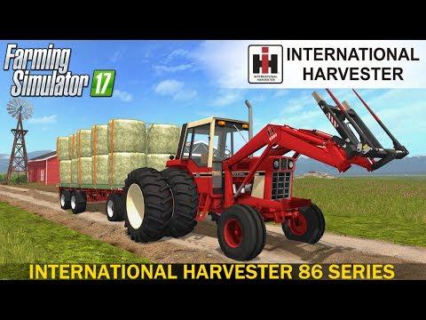 INTERNATIONAL HARVESTER 86 SERIES PACK - FS 17 Tractors