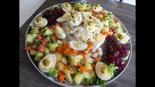 Salade Composée / Idée Dentrée Sympa.