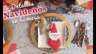 Decorando La Mesa De Navidad Y Año Nuevo, Detalles Increíbles Para Navidad