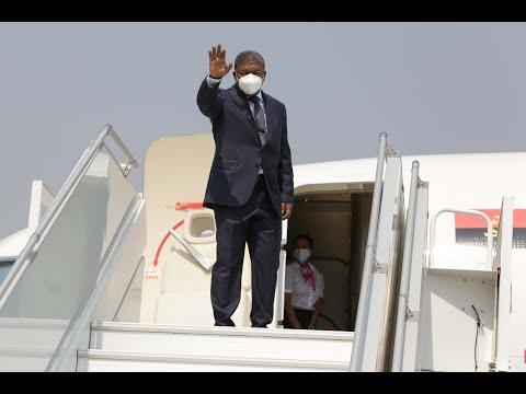 Presidente angolano a caminho de Nova Iorque