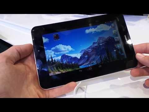 Huawei MediaPad 7 Youth 2 tablet bemutató videó | Tech2.hu