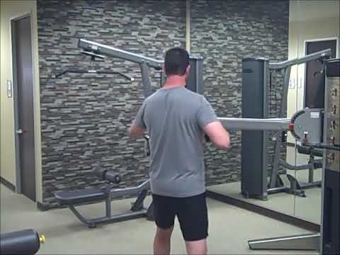 Cable Row with Rotation