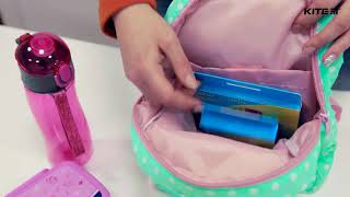 """Рюкзак детский Kite K18-541XXS-2 ( 2-4 года) от компании Интернет-магазин """"Радуга"""" - школьные рюкзаки, канцтовары, творчество - видео"""