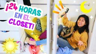 24 HORAS viviendo EN EL CLOSET 👚👖 👠 ¡Es Muy Pequeño e INCOMODO! | CONNY MERLIN